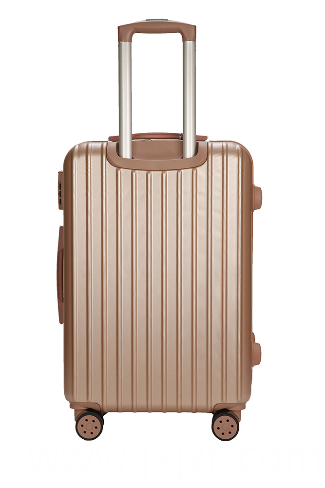 New Striped Luggage Trolley