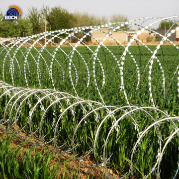 razor barbed wire for security fence
