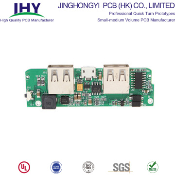 Double Side Fr4 94V0 Power Bank PCB Manufacturing and Assembly