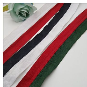 Fation two colours nylon zippers for garment
