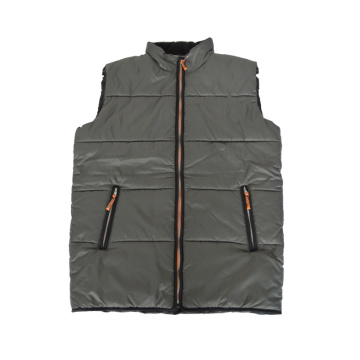 Wholesale padding vest multi pockets safety work vest