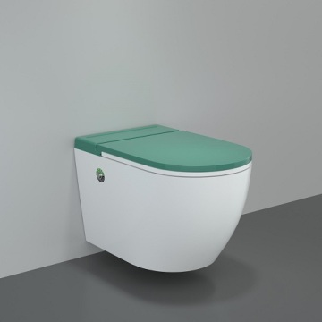 P-trap Toilets Ceramic Smart Wall Hung WC