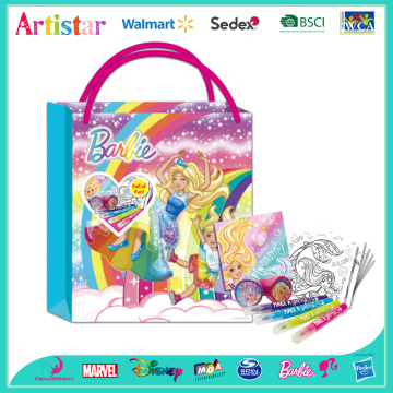 Barbie activity bag