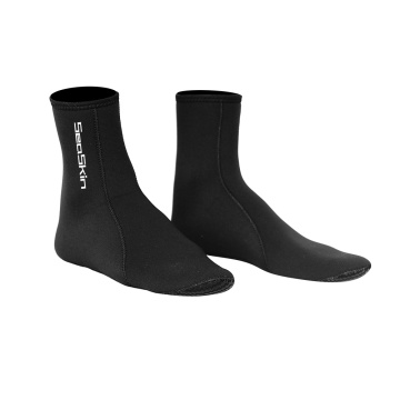 Seaskin Adults Wetsuit Socks with Anti-Slip Rubber Printing