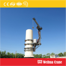 Self-Climb Crane for Wind Turbine Maintenance
