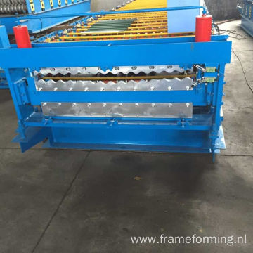 Aluminum Metal Roof Roofing Wall Panel Machine