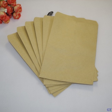 100pcs LxW: 12x18cm kraft paper brown seed bag crop pollination isolation sack seed packaging/grow/protective bags