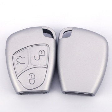 Metallic Silver Silicone Cover For Mercedes Benz