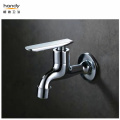 Chrome Surface Finish Brass Bib Tap