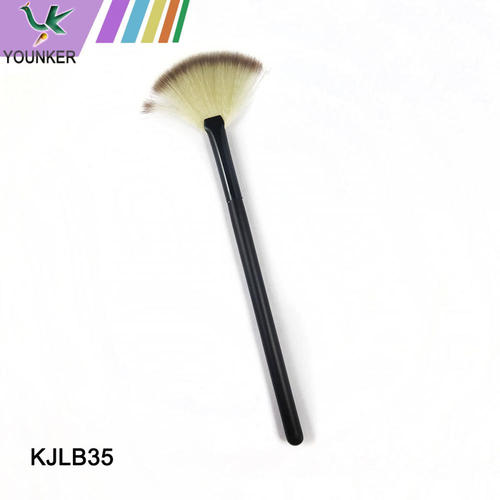 Wooden handle advanced cosmetic brush