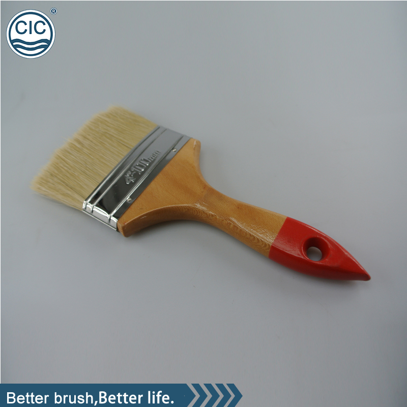 high quality wood handle popular paint brushes