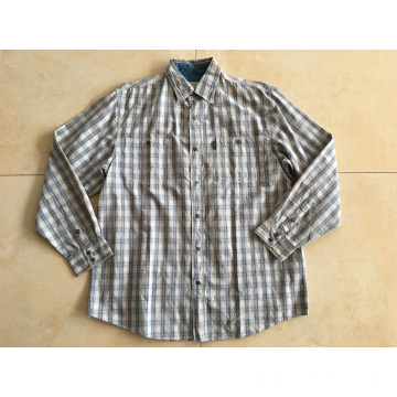 Cotton Yarn Dyed Man Shirt