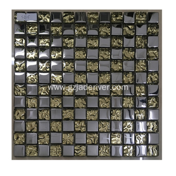 Latest Style Cheap Crystal Tempered Glass Mosaic