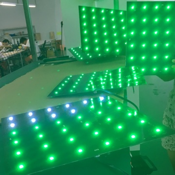 Disco Decoration Color Changing Colorful LED Panel Light