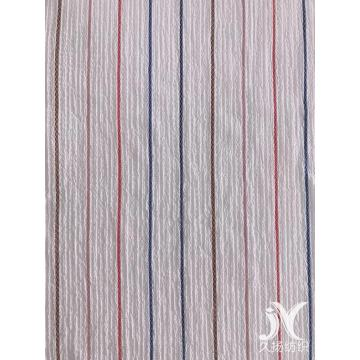 Muliticolor Stripes Crepe Fabric