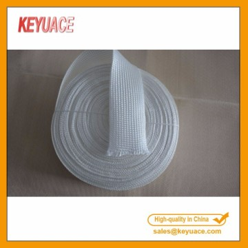 Quartz Fiberglass Braided Fireproof Sleeve