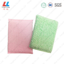 Smooth cleaning sponge kitchenware