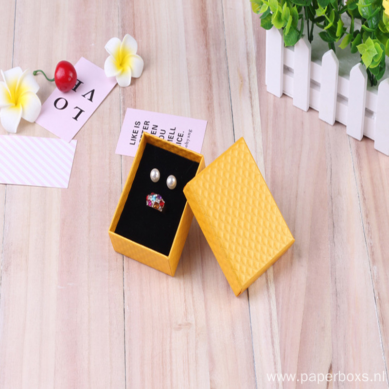 New Design Recycled Jewelry Packaging Paper Box