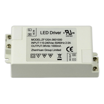 36V 1A 36W RoHS Led Tube Light Driver