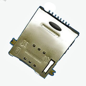 SIM Series 8Pin 1.85mm Large Foot Height