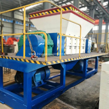 Recycling Machine Plant Tire Shredder