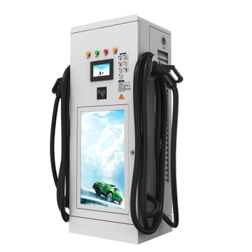 80KW led display ev chargeur rapide Double pistolet