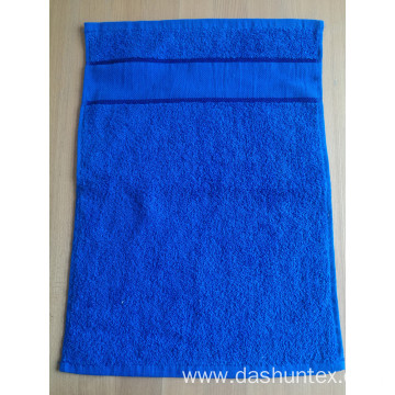 100% cotton face towel with border for children