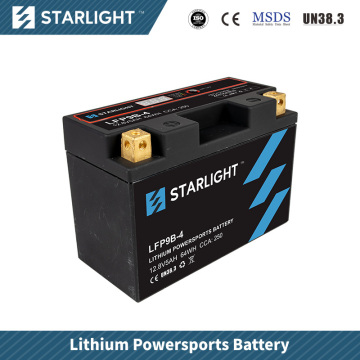 LFP9B-4 Lithium Motorcycle Battery/Powersports Batteries