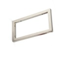 Stainless Steel Square Floating Wall Shelving Brackets
