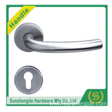 SZD STH-103 Customize High Quality Die-Cast Stainless Steel Door Lever Handle With Square On Rose with cheap price