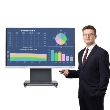 interactive flat panel display smart tablet electronic whiteboard