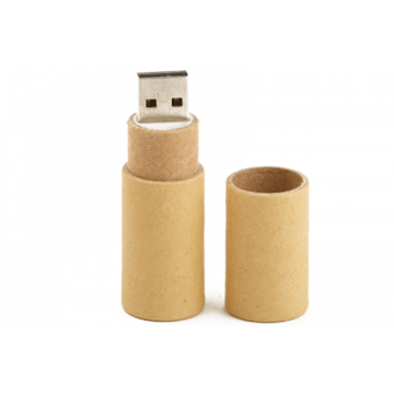 Recicle las unidades flash USB de papel con un logotipo personalizado