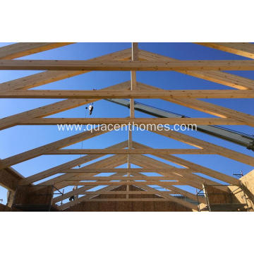 Strong DIY Timber Trusses made of Germany Glulam