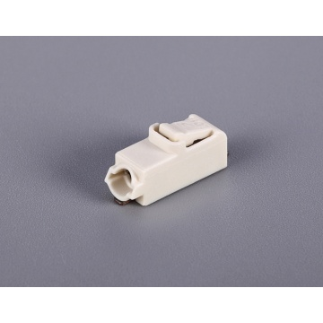 1 Poles PCB Screwless Push Wire Connectors