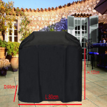 Universal BBQ Grill Cover,custom Gas Barbecue Grill protective cover,Black color Waterproofed,outdoor furniture cover