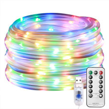 Luz LED de color multi alimentada por cable LED