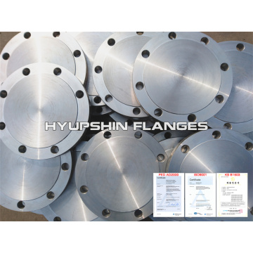 Forged Carbon Steel Flange DIN 2527 Blind FFRF