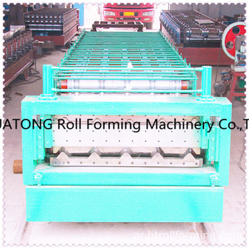 ht-1008 and 1000 hydraulic color steel double layer roll forming machine
