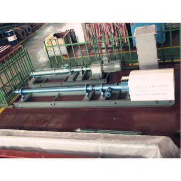 Design of pressurized water injection pump