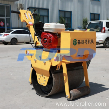Petrol Power Single Drum Hand Roller Compactor (FYL-600)