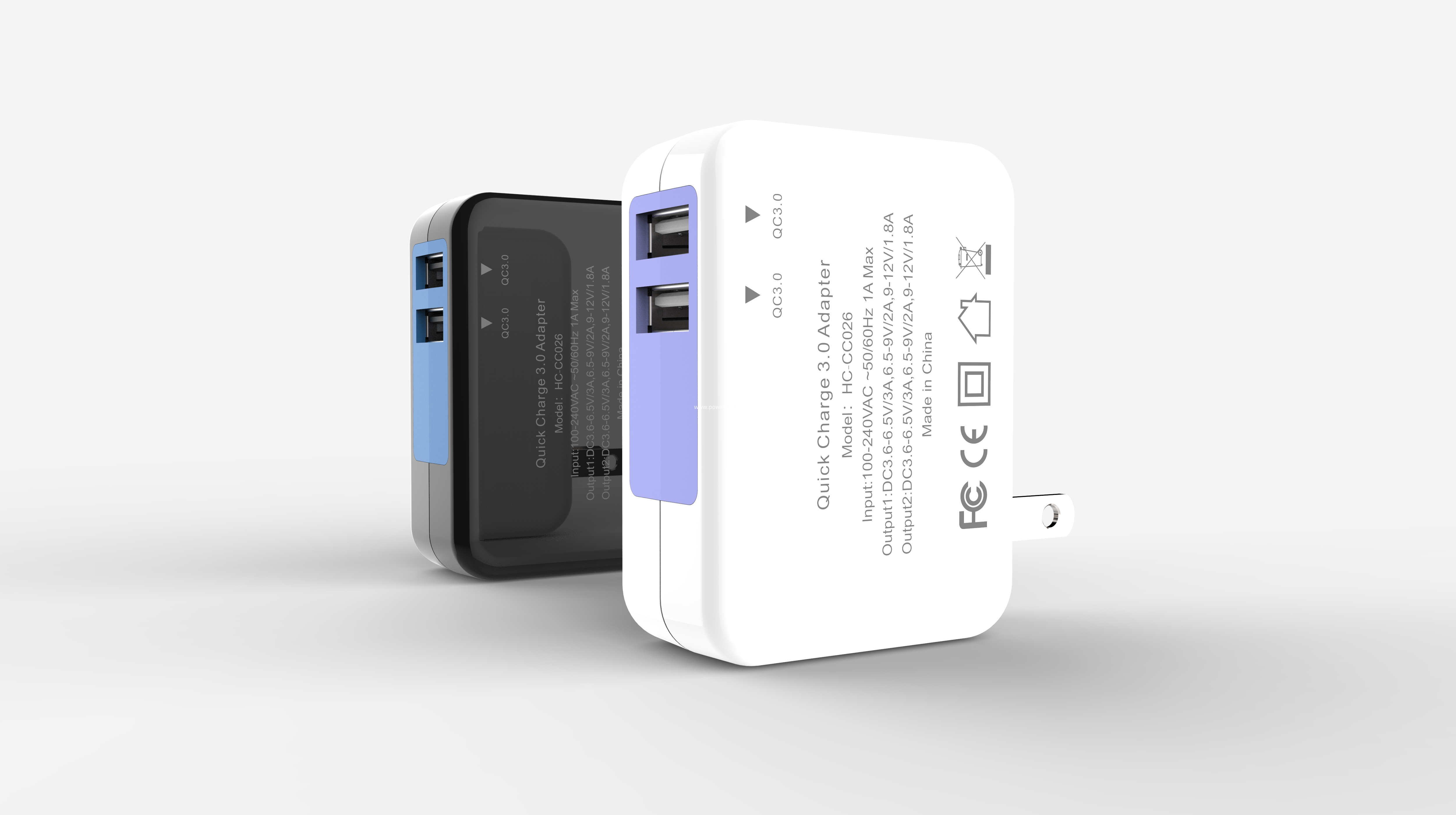 interchangeable plug USB charger