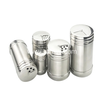 Stainless steel Seasoning Jar Bottle with Shaker Lid