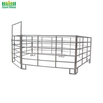 Heavy Duty PVC Used Livestock Horse Fence Panels