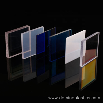 Polycarbonate color sheet roofing awing panel