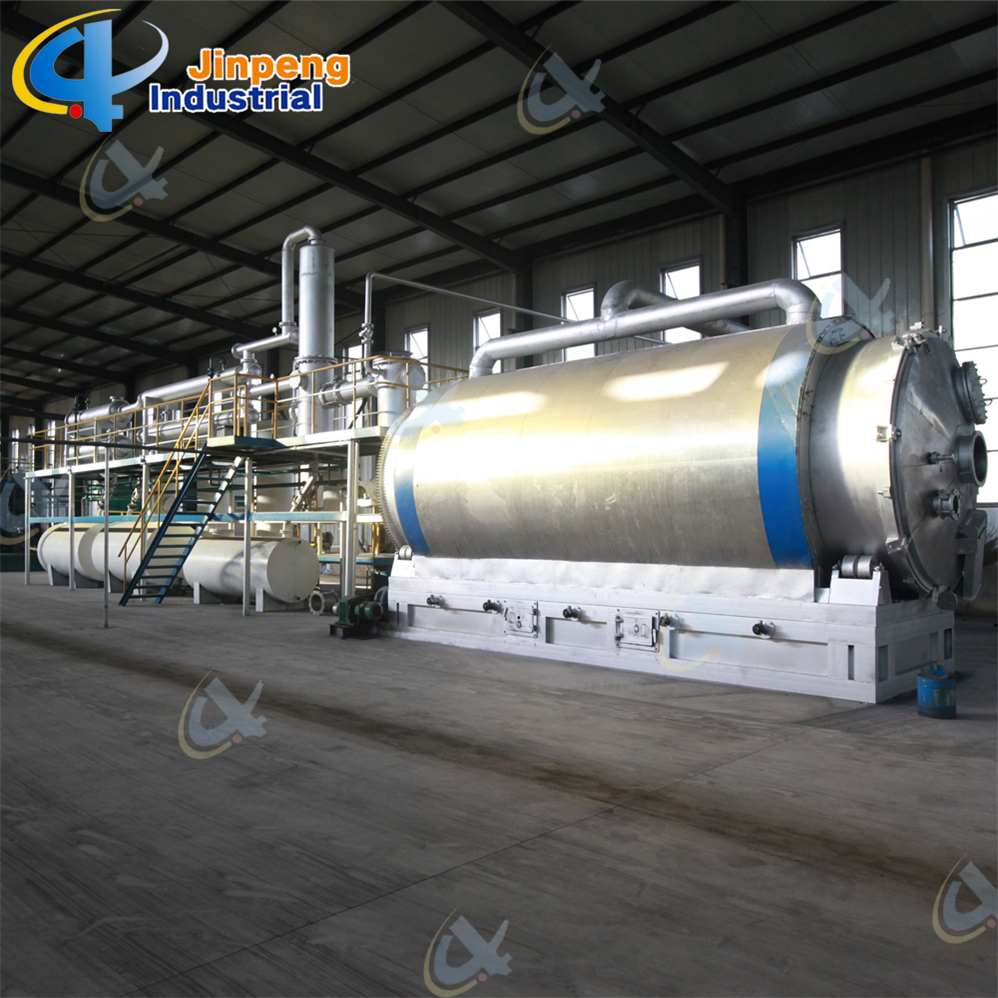 Car Tyre Pyrolysis to Oil Machine