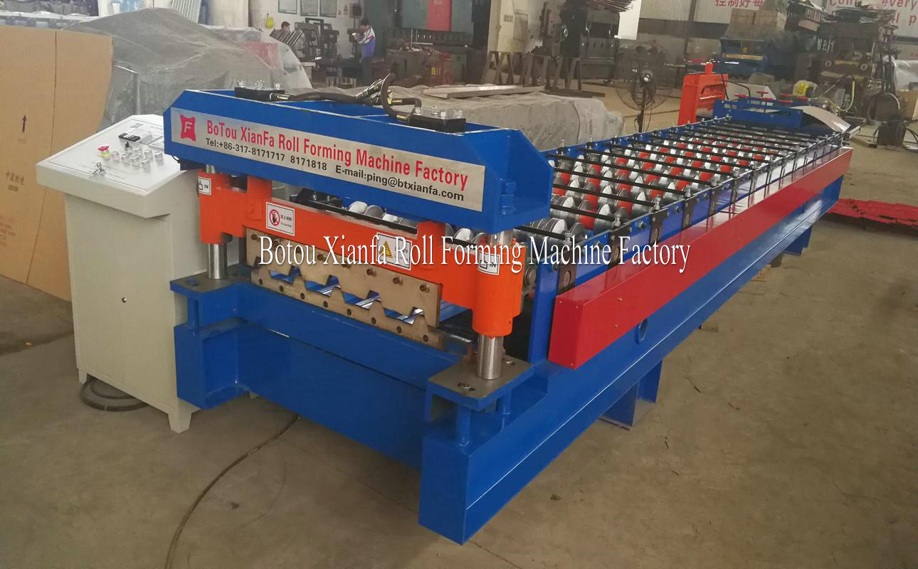 aluminum panel roofing roll forming machine