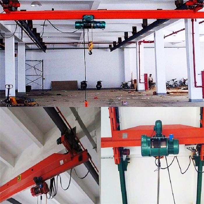 1 ton single beam overhead crane