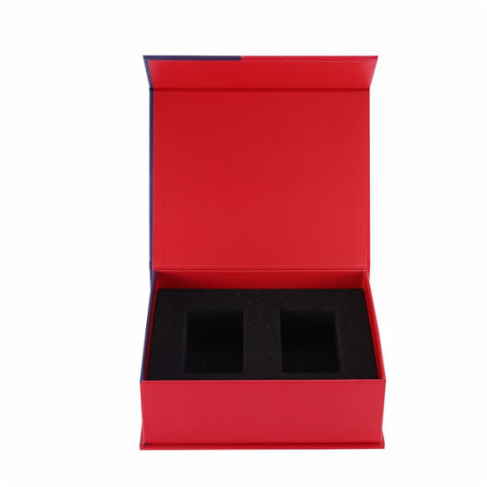Customized Rigid Book Shape Gift Paper Box