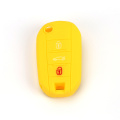 Peugeot Embossed Silicone Car Key Cover