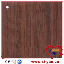 Wood grain pvc kitchen cabinet door film